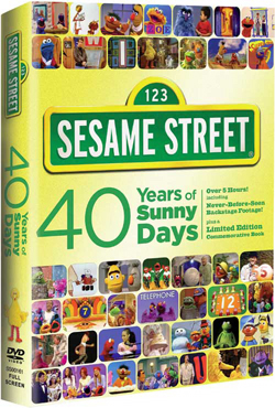 Sesame Street 40 Years Of Sunny Days