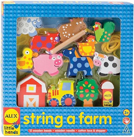 Alex Toys Wooden Stringing Sets