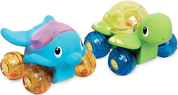 Munchkin Wet Wheels Bath Toys
