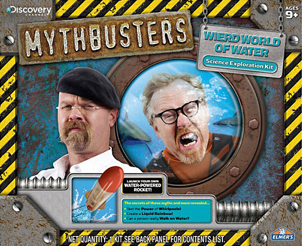 Mythbusters Weird World of Water