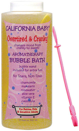 California Baby I Love You Bubble Bath