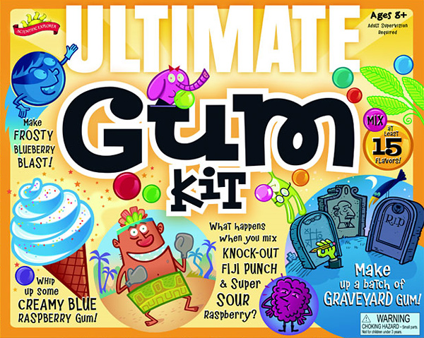 Scientific Explorer's Ultimate Gum Making Science Kit