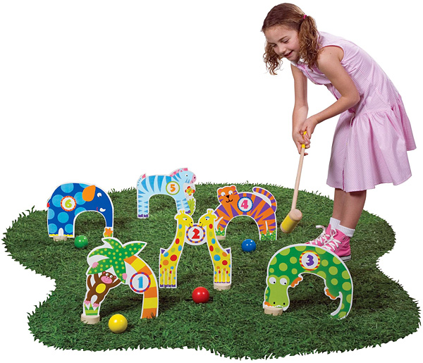Alex Jungle Croquet Set