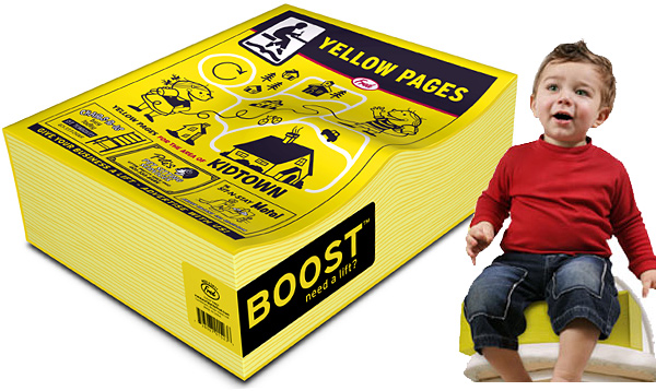 Boost Yellow Pages Booster Seat