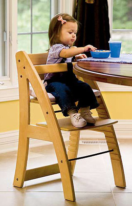 Euro II Grow With Me Highchair