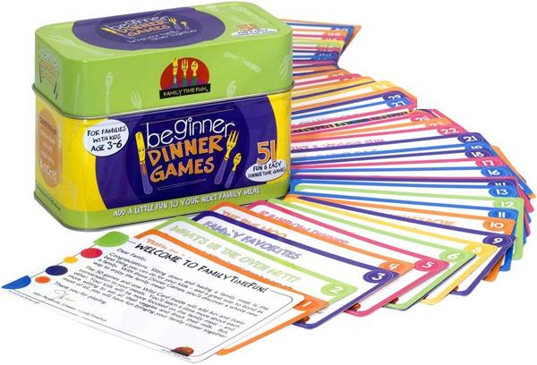 Family Time Fun Beginner Dinner Games