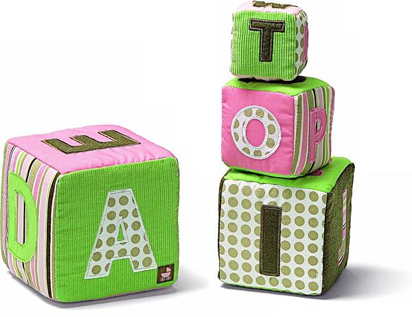 Gund Baby Alphabet Stacking Blocks