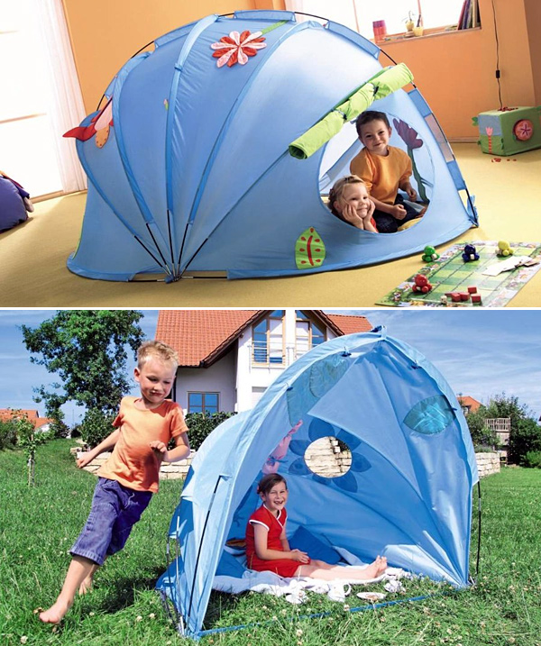 Haba Flower Igloo Collapsible Tent