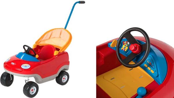 Little Tikes Deluxe Cozy Convertible Car