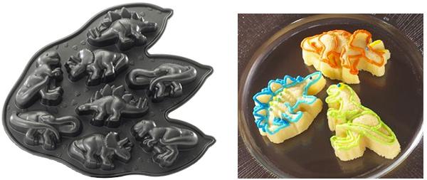 Nordic Ware Pro Cast Dinosaur Cakelette Pan