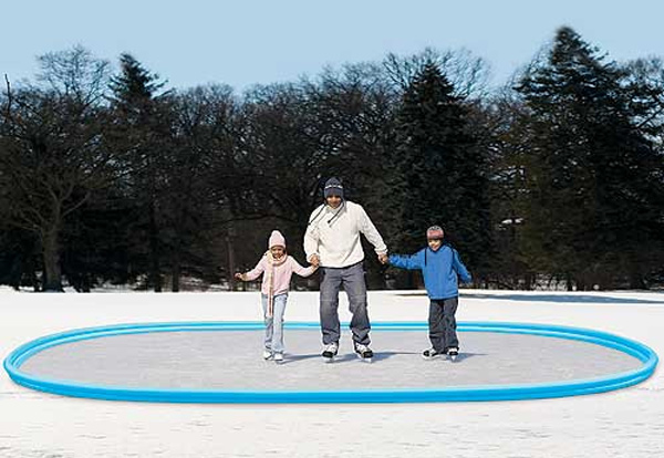 Oval Ice Rink