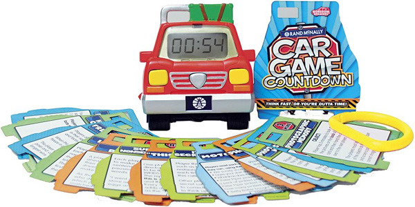 Rand McNally Car Game Countdown