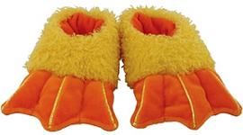 Rich-Frog-Duck-Feet-Slippers