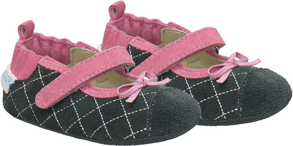 Robeez Quilted Mary Janes Mini Shoez