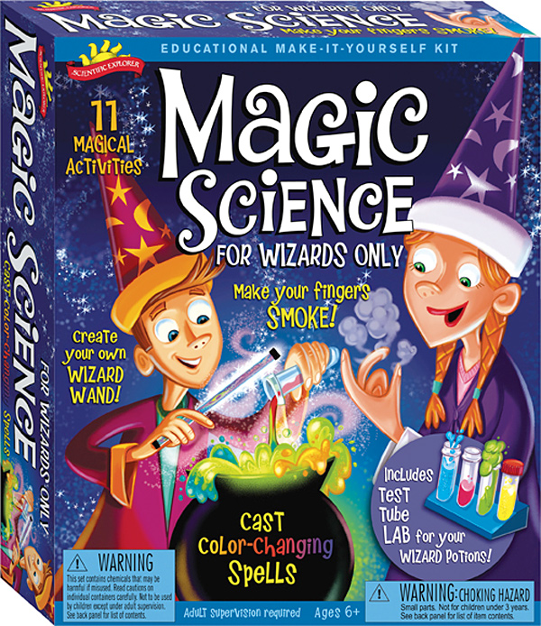Scientific Explorer's The Magic Science Wizard's Kit