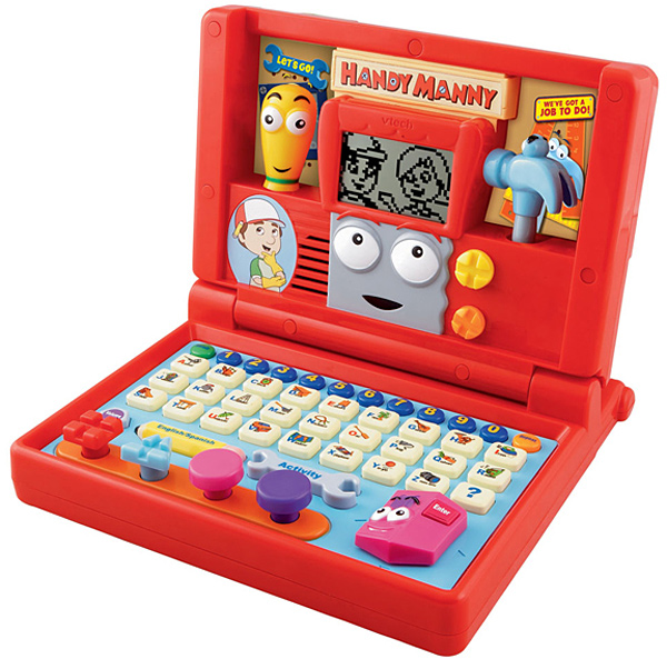 VTech Handy Manny's Construction Laptop