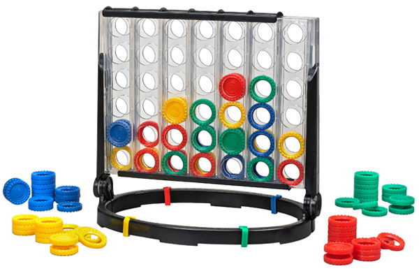 Milton Bradley Connect 4x4