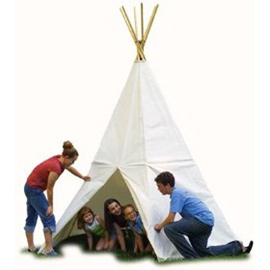 12' Canvas Teepee