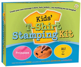 Magnetic Poetry Kids T Shirt Stamping Kit