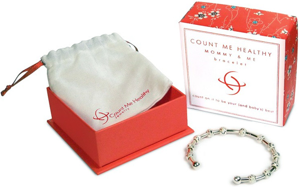 Count Me Healthy Mommy & Me Bracelet