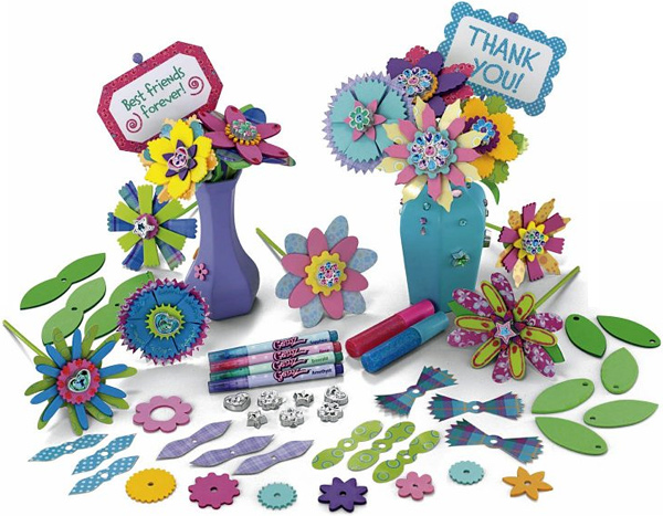 Fisher Price Color Me Gemz Flowerz