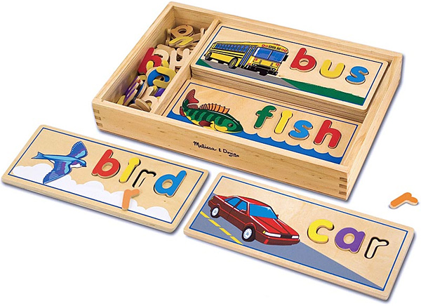 Melissa & Doug See & Spell Puzzle Boards