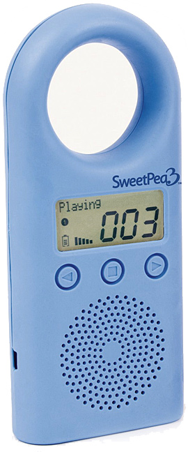 Peapod Toys SweetPea3 MP3 Player