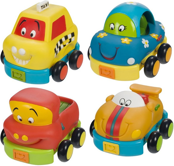 Toysmith Battat Ready Set Go Cars Toy