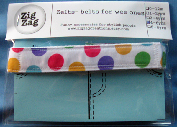 Zelts Belts For Wee Ones