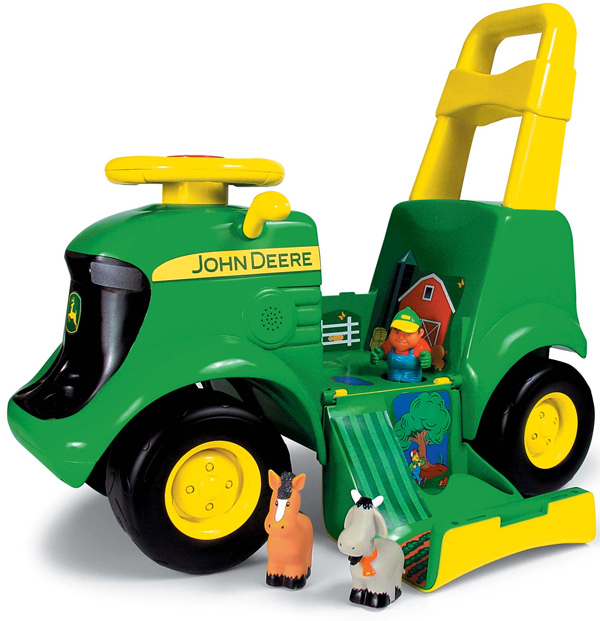 John Deere Sit n Scoot Tractor