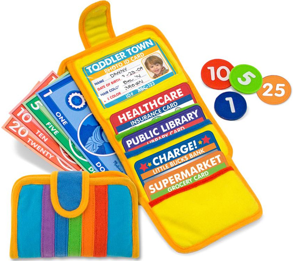 Melissa & Doug Wallet Play Set