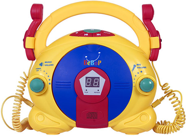 BeBop Sing Along CD Karaoke Player