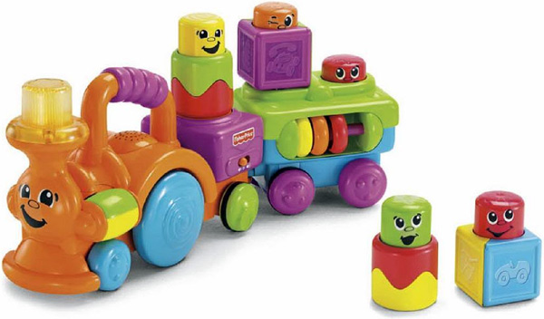 Fisher-Price Stack n Action Choo Choo
