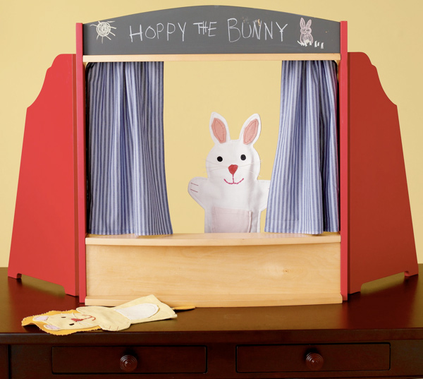 Land of Nod Tabletop Puppet Theater