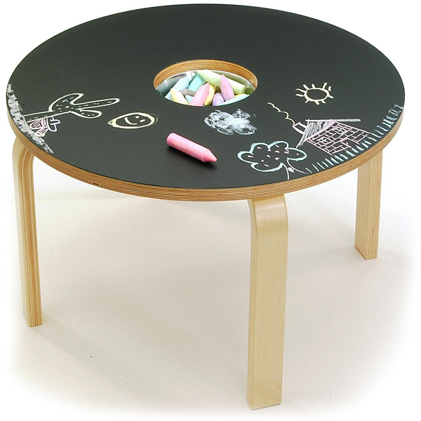 Offi Woody Chalkboard Table
