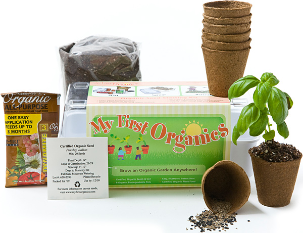 Surf City Growers Organic Seed Starter Set