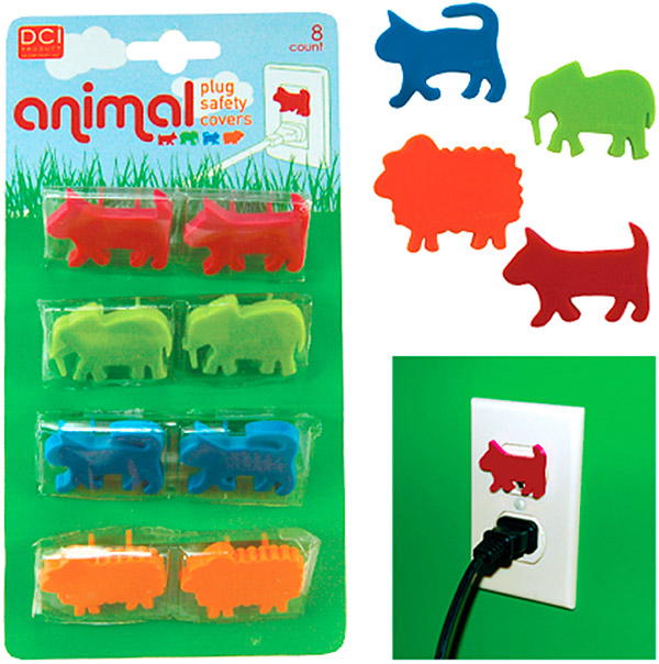 Animal Plug Safety Covers