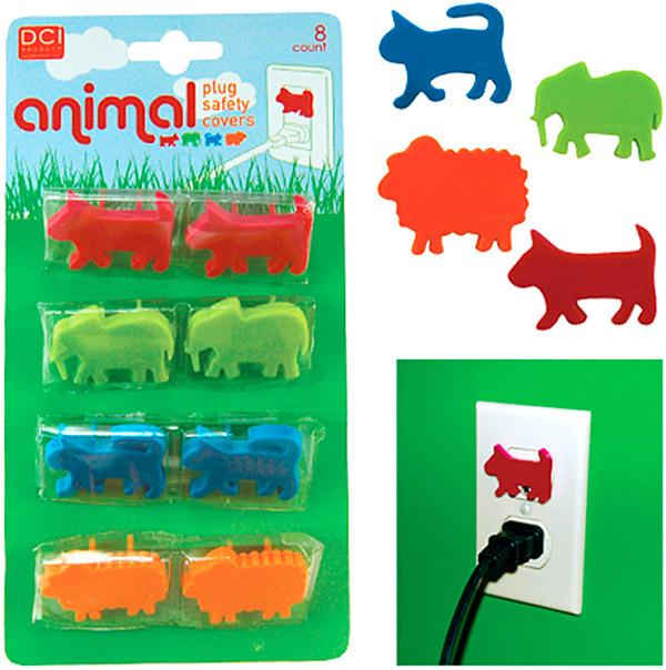 Animal Plug Safety Covers