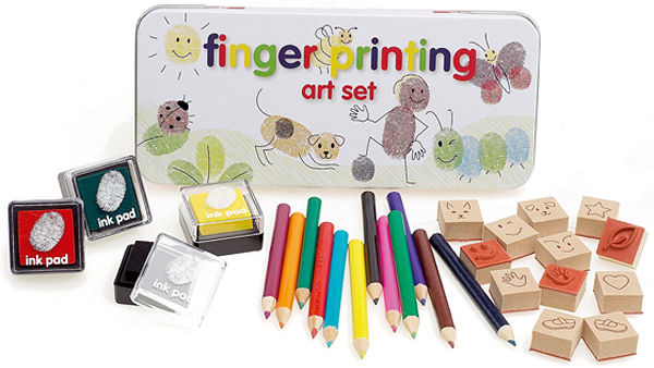 NPW Finger Printing Art Set