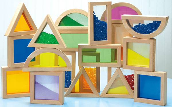 Rainbow Stacking Blocks