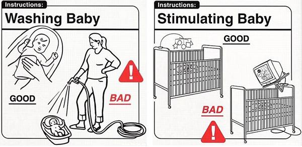 Safe Baby Handling Tips Book