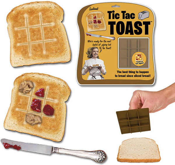 Tic Tac Toast Bread Stamper