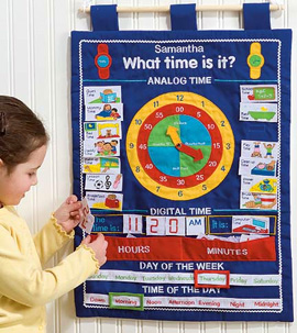 "Post image for ""What Time Is It?"" Wall Hanging"