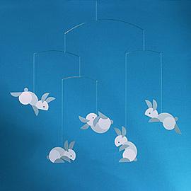 Circular Bunnies Mobile