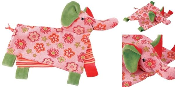 Kathy Krouse Ikibab Elephant Towel Doll