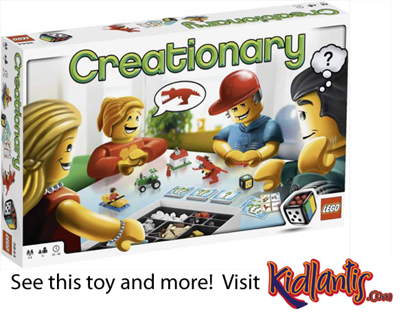 Lego Games Creationary