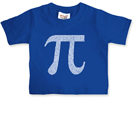 Pi by Numbers Kids T Shirt