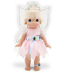 Disney Precious Moments Pixie Pink Tinker Bell Doll