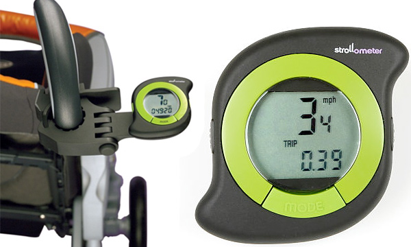 Strollometer Wheel-based Stroller Speedometer/Odometer