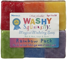 Sun Feather Washy Squashy Modeling Soap